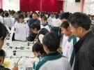 虎山中学19年学生书法比赛