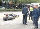 大埔这里发生交通事故