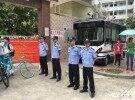 中考警察蜀黍全力护航
