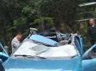 西河车祸,车顶都撞没了