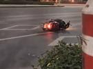 黎家坪车祸司机当场身亡