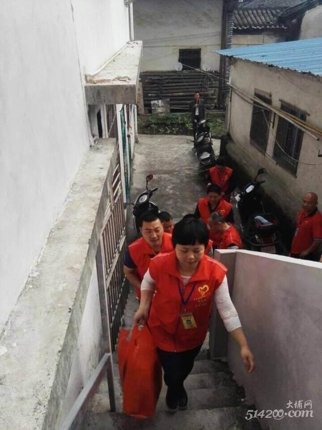 1.队员们带上慰问品走访贫困家庭.jpg