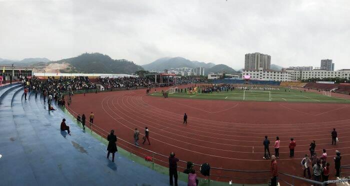 2017年大埔县中小学生田径运动会,好壮观的场面!
