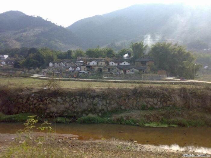 桃花大塘坝图片
