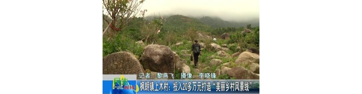 上木:打造美丽乡村风景线