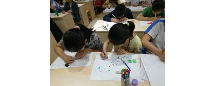 高陂中小举行书法绘画比赛