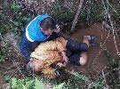 8旬老人水沟里被找到