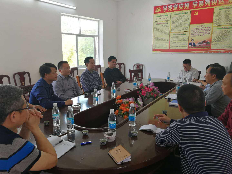 大埔县局助力省级贫困村创建新农村示范村