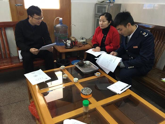 大埔县局抽调骨干派员到环保局跟班学习